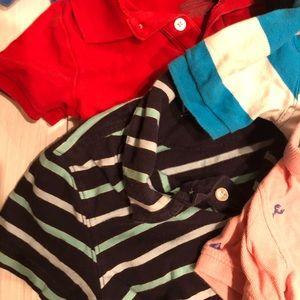 Shirts & Tops - BOYS 24MO/2T 6PC POLO BUNDLE